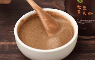 山药红豆薏米粉什么时间吃最好?