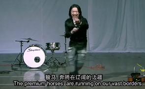 黄渤当年艺考海选的视频截图