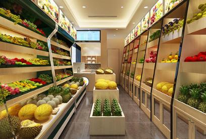 开水果超市必须选繁华地段吗?
