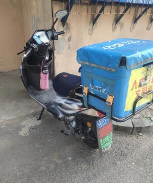 外卖骑手如何防止偷电动车、丢电池